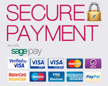 Secure Payments by SAGE Pay