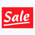 Sale Rectangle Sign