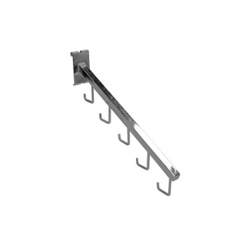 5 Hook Sloping Arm for Gridwall