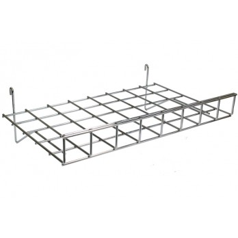 Flat Shelf with 70mm Lip for Gridwall