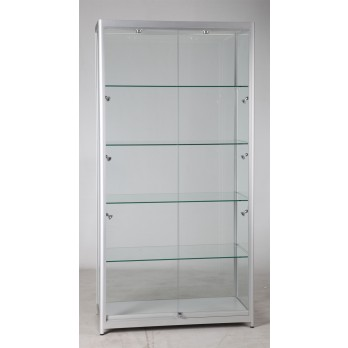 Display Cabinet 1000w x 500d x 1980h mm Flat Pack