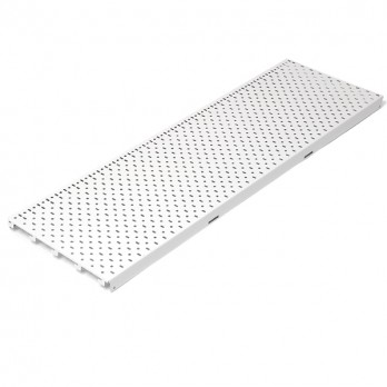 AMX35 Back Panel Perforated Neutral 1250mm x 315mm