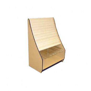 11 Tier Greeting Card/Gift Unit 1000mm White