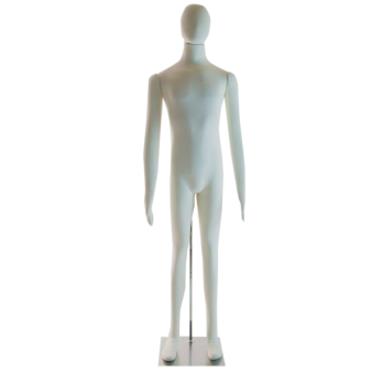 Flexible Male Mannequin with head