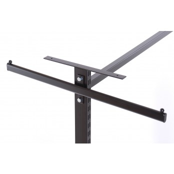 Gondola Top Shelf Bracket 300mm Black (Pair)