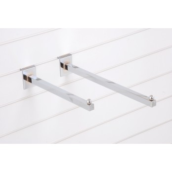 Economy Straight Arm 400mm Slatwall