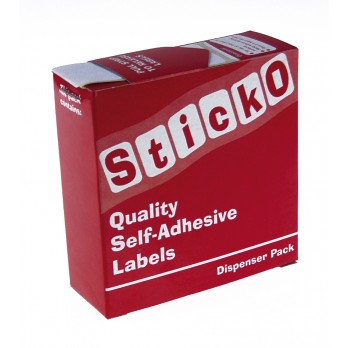 Sticko Labels Dumbell 38 x 10mm