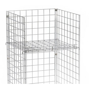 Flat Square Shelf for Gridwall