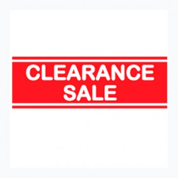 Clearance Sale Poster 2