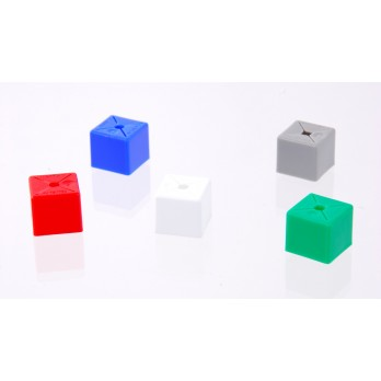 Plain Minicube Red (Pack of 50)
