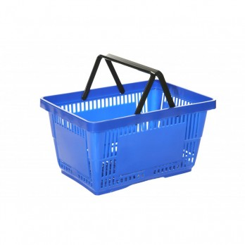 Shopping Basket 21 Litre Blue