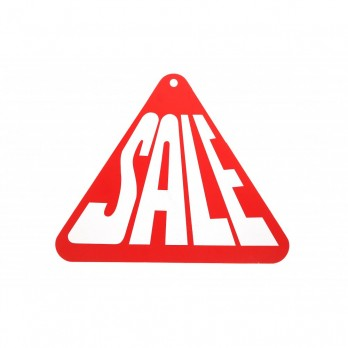 Triangle Sale Hanging Sign