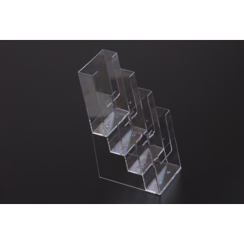 Slatwall/Wall Mount/Freestandin Leaflet Dispenser 4 Tier DL