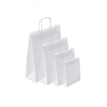 Paper Carrier Bags White