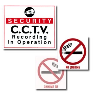CCTV Front Adhesive