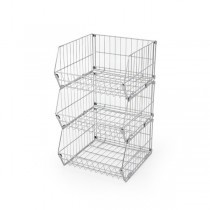 Collapsible Stacking Baskets & Dividers