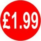 Peelable Price Labels £1.99