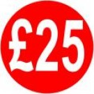 Peelable Price Labels £25
