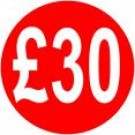 Peelable Price Labels £30