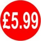 Peelable Price Labels £5.99