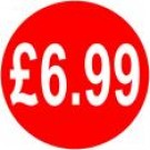 Peelable Price Labels £6.99
