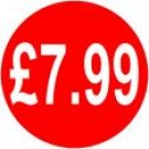 Peelable Price Labels £7.99