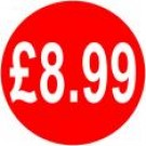 Peelable Price Labels £8.99