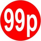 Peelable Price Labels 99p