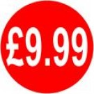 Peelable Price Labels £9.99