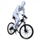 Cycling Male Mannequin tilted
