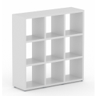 QUBE Display Units Configuration 8 in white