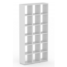 QUBE Display Units Configuration 22 in white