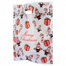 Santa Christmas Design Carrier Bags