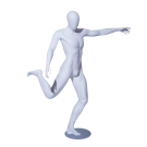 Football Striker Pose Male Mannequin side pose