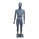 Plastic Eco-Friendly Mannequin Male in Black Color