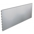 Back Panels Perforated Silver
