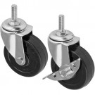Rubber Castors 75mm