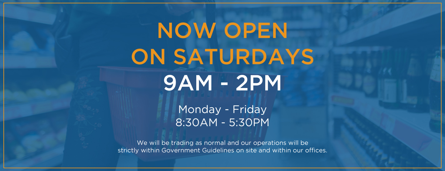 Saturday Opening Hours