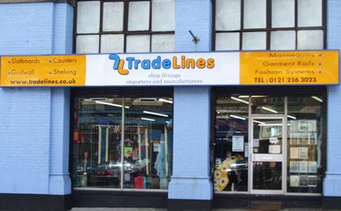 Trade Lines Shop Equipment Shop